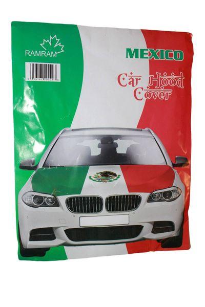 MEXICO Country Flag CAR HOOD COVER