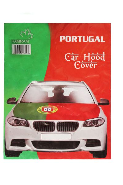 PORTUGAL Country Flag CAR HOOD COVER