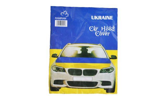 UKRAINE Country Flag CAR HOOD COVER