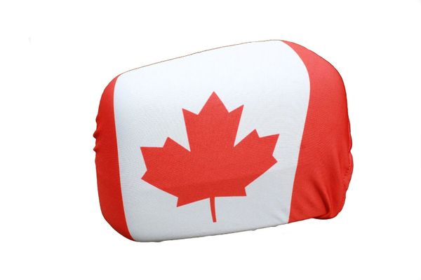 CANADA Country Flag CAR MIRROR COVER