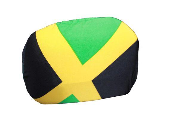 JAMAICA Country Flag CAR MIRROR COVER