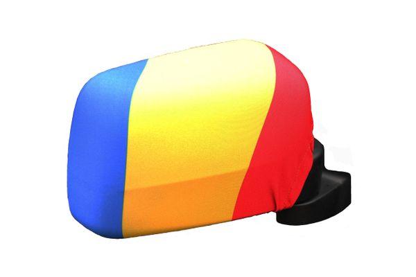 ROMANIA Country Flag CAR MIRROR COVER
