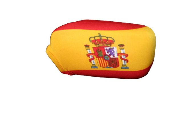 SPAIN Country Flag CAR MIRROR COVER