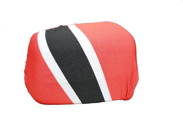 TRINIDAD & TOBAGO Country Flag CAR MIRROR COVER