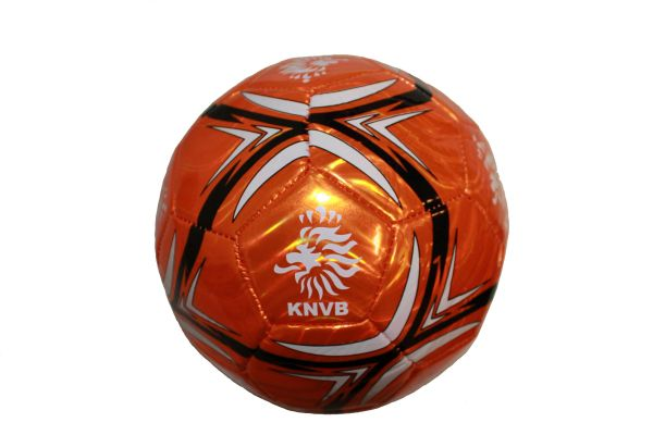 NETHERLANDS HOLLAND WHITE - BLACK STRIPES KNVB WHITE LOGO FIFA WORLD CUP SOCCER BALL SIZE 5.. NEW AND IN A PACKAGE
