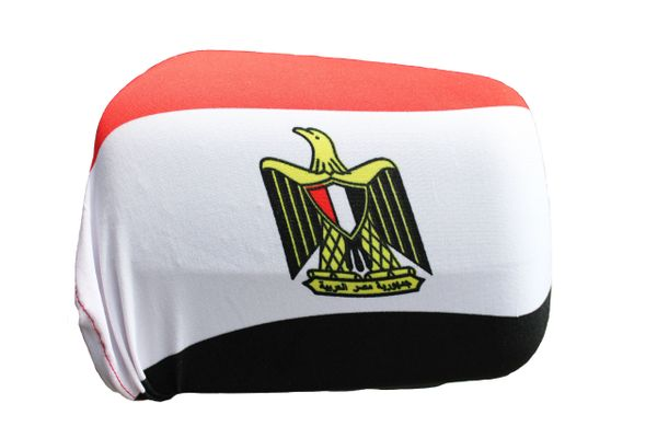 EGYPT Country Flag CAR Side MIRROR COVERS .. 2 In A Pack