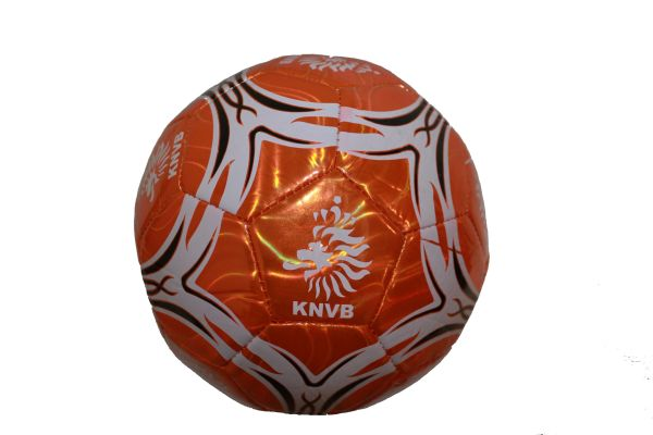 NETHERLANDS HOLLAND WHITE - BLACK - ORANGE STRIPES KNVB WHITE LOGO FIFA WORLD CUP SOCCER BALL SIZE 5.. NEW AND IN A PACKAGE