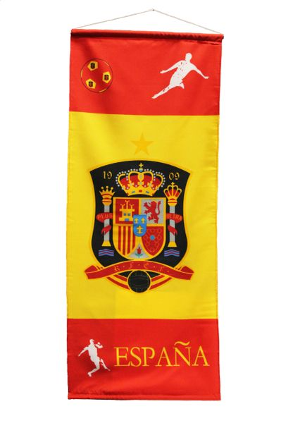 "ESPANA SPAIN Country Flag 20"" x 48"" Inch Banner"