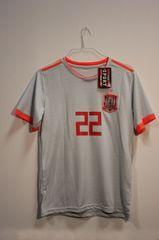 SPAIN Grey #22 ISCO.. FIFA World Cup JERSEY Set : T-SHIRT & PANTS