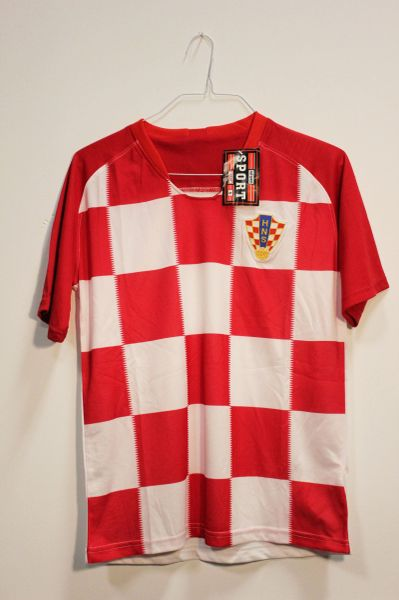 CROATIA Red White HNS Logo FIFA World Cup JERSEY Set : T-SHIRT & PANTS