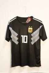 ARGENTINA Black 2 Stars, MESSI #10 AFA Logo FIFA World Cup JERSEY Set : T-SHIRT & PANTS