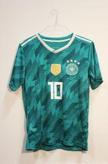 GERMANY Green 4 Stars, OZIL #10 DEUTSCHER... Logo FIFA World Cup JERSEY Set : T-SHIRT & PANTS