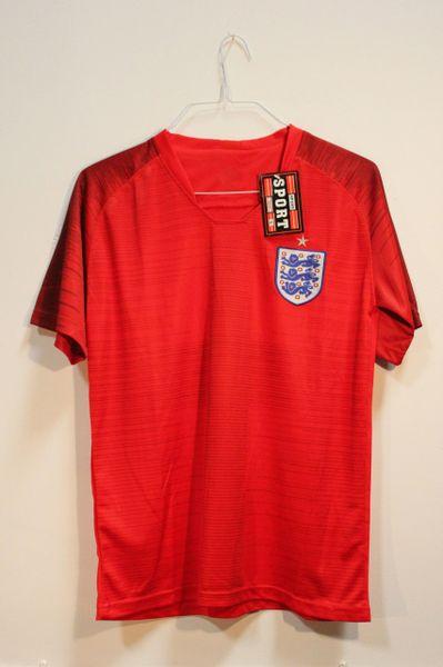 ENGLAND One Star 3 Lions Logo FIFA World Cup JERSEY Set : T-SHIRT & PANTS