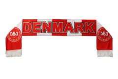 DENMARK , BoldSpil Union 1889 Logo FIFA World Cup WARM THIN CRASHED FLEECE SCARF