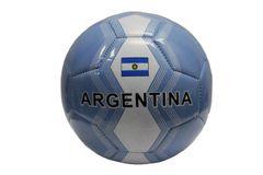 ARGENTINA Blue White Country Flag SOCCER BALL
