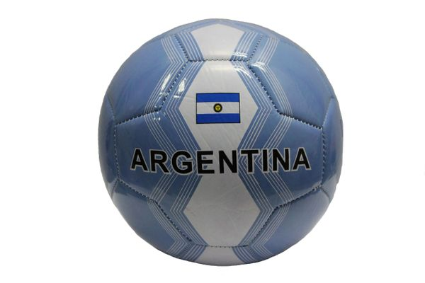 ARGENTINA Blue White Country Flag SOCCER BALL