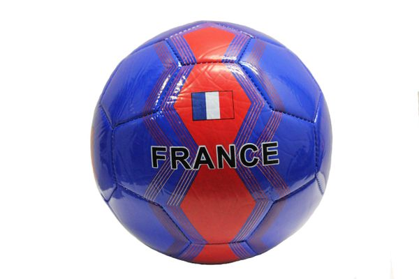 FRANCE Blue Red Country Flag SOCCER BALL