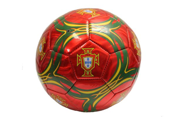 PORTUGAL Colored , FPF Logo FIFA World Cup SOCCER BALL