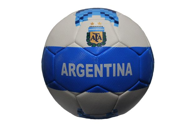 ARGENTINA AFA Blue White Country Flag SOCCER BALL ...NEW