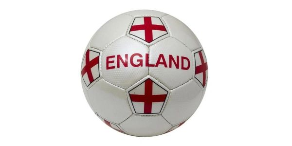 ENGLAND WHITE COUNTRY FLAG FIFA WORLD CUP SOCCER BALL SIZE 5 .. NEW AND IN A PACKAGE