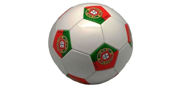 PORTUGAL WHITE COUNTRY FLAG FIFA WORLD CUP SOCCER BALL SIZE 5 .. NEW AND IN A PACKAGE