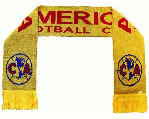 AMERICA FOOTBALL CLUB CA ( Mexico ) Soccer Team Logo THICK SCARF
