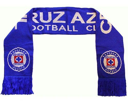 CRUZ AZUL DEPORTIVO ( Mexico ) Soccer Team Logo THICK SCARF