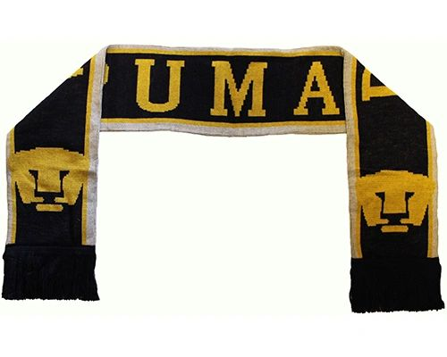 PUMAS ( Mexico ) Soccer Team Logo THICK SCARF