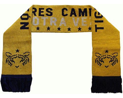 TIGRES CAMPEON OTRA VEZ ( Mexico ) Soccer Team Logo THICK SCARF