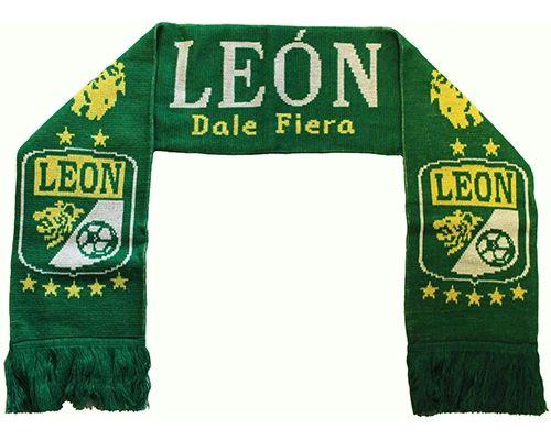 LEON DALE FIERA ( Mexico ) Soccer Team Logo THICK SCARF
