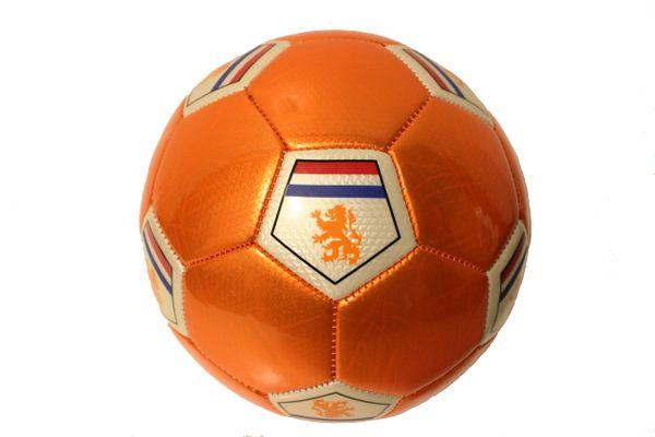 NETHERLANDS Country Flag , KNVB Logo ORANGE SOCCER BALL