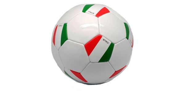 ITALIA ITALY WHITE COUNTRY FLAG FIFA WORLD CUP SOCCER BALL SIZE 5 .. NEW AND IN A PACKAGE