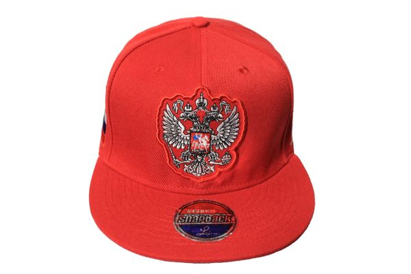 RUSSIA Country Flag , 2 HEAD EAGLE SNAPBACK Embroidered HIP HOP Hat Cap