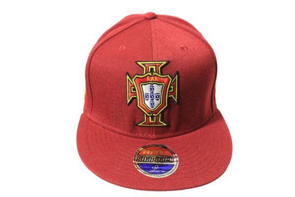 PORTUGAL Country Flag , FPF Logo SNAPBACK Embroidered HIP HOP Hat Cap