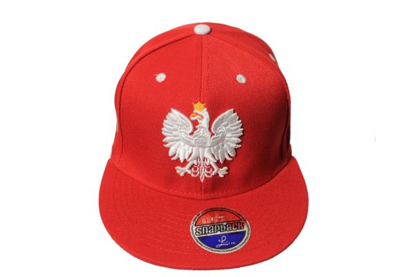 POLAND Country Flag With EAGLE SNAPBACK Embroidered HIP HOP Hat Cap