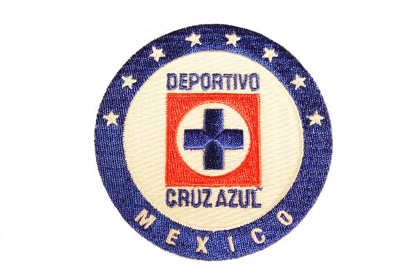 """DEPORTIVO CRUZ AZUL Football Club ( Mexico ) , 3"""" Inch Round Embroidered Iron - On PATCH CREST BADGE"""