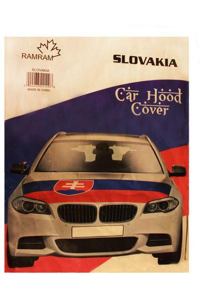 SLOVAKIA Country Flag CAR HOOD COVER