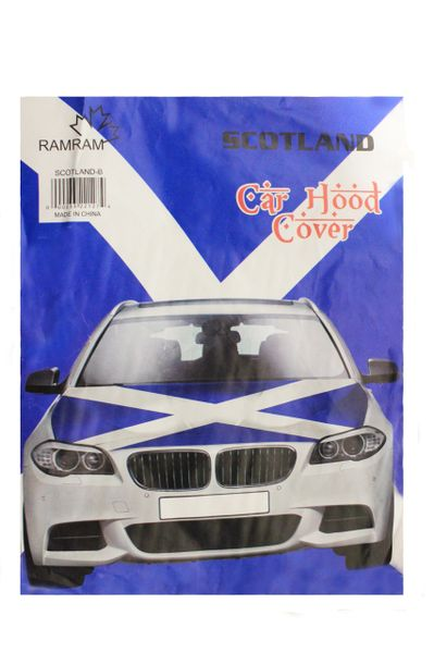 SCOTLAND St. ANDREW CROSS Country Flag CAR HOOD COVER