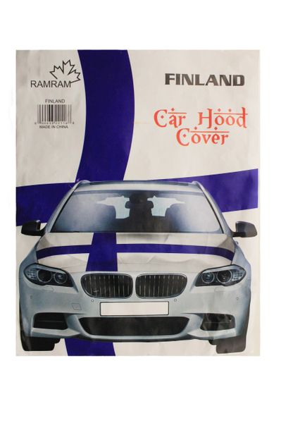 FINLAND Country Flag CAR HOOD COVER