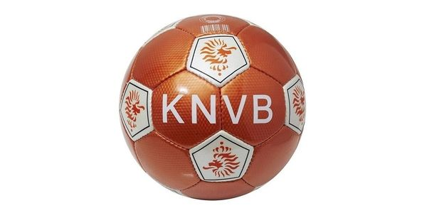 NETHERLANDS HOLLAND ORANGE KNVB LOGO FIFA WORLD CUP SOCCER BALL SIZE 5 .. NEW AND IN A PACKAGE