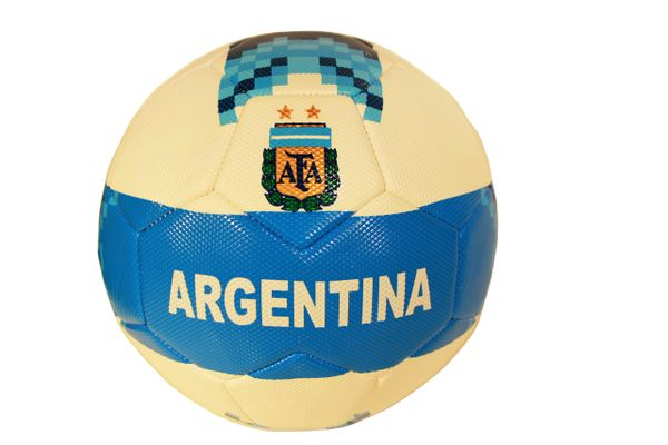 ARGENTINA 2 Stars , AFA Logo BLUE - WHITE SOCCER BALL