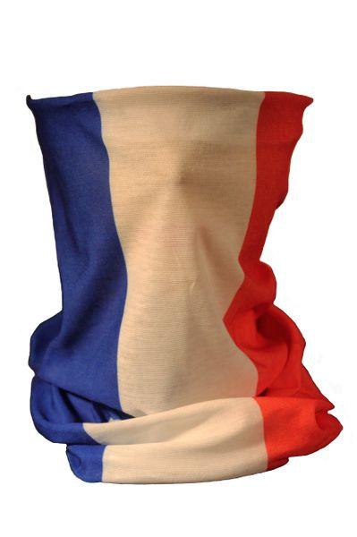 FRANCE Country Flag Multifunctional FACE SCARF BANDANA