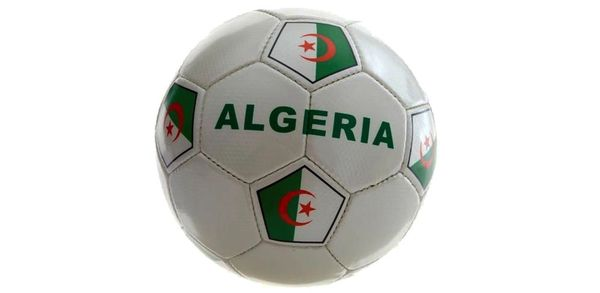 ALGERIA WHITE COUNTRY FLAG FIFA WORLD CUP SOCCER BALL SIZE 5 .. NEW AND IN A PACKAGE