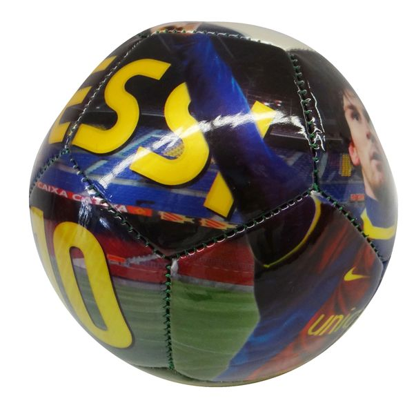 LIONEL MESSI #10 ARGENTINA TEAM PICTURE FIFA WORLD CUP SOCCER BALL SIZE 2 .. NEW AND IN A PACKAGE