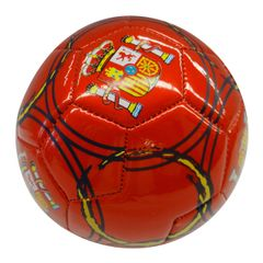 SPAIN RED WITH STRIPES FIFA WORLD CUP SOCCER BALL SIZE 2 .. NEW AND IN A PACKAGE