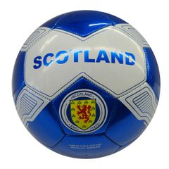 SCOTLAND BLUE WHITE FIFA WORLD CUP SOCCER BALL SIZE 5 .. NEW AND IN A PACKAGE
