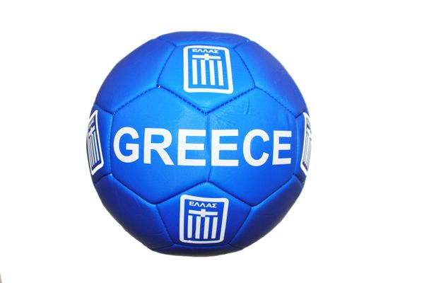 GREECE BLUE COUNTRY FLAG FIFA WORLD CUP SOCCER BALL SIZE 5 .. NEW AND IN A PACKAGE