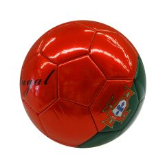 PORTUGAL RED GREEN COUNTRY FLAG FIFA WORLD CUP SOCCER BALL SIZE 5 .. NEW AND IN A PACKAGE