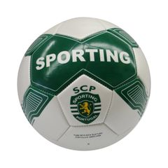 SPORTING / PREMIERA LIGA , PORTUGAL / GREEN WHITE SOCCER BALL SIZE 5.. NEW AND IN A PACKAGE