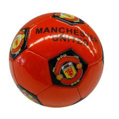MANCHESTER UNITED / PREMIER LEAGUE , ENGLAND / RED SOCCER BALL SIZE 5.. NEW AND IN A PACKAGE